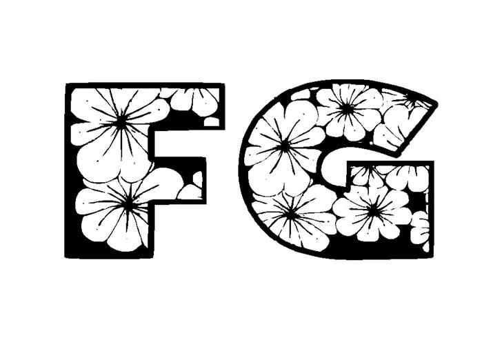 Zensyrom font by Eva Barabasne Olasz