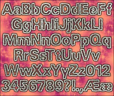 Jagged BRK font by Ænigma Fonts