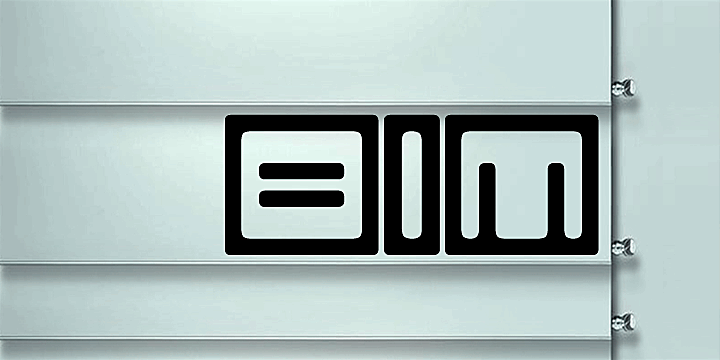 Bim font by Qbotype Fonts