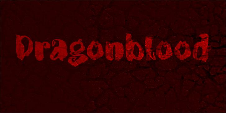 DK Dragonblood font by David Kerkhoff