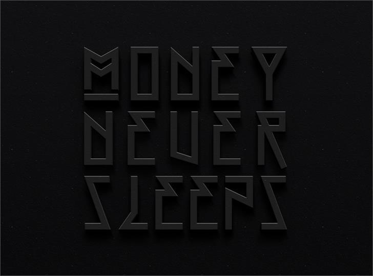 OFF font by Kreuk.Co