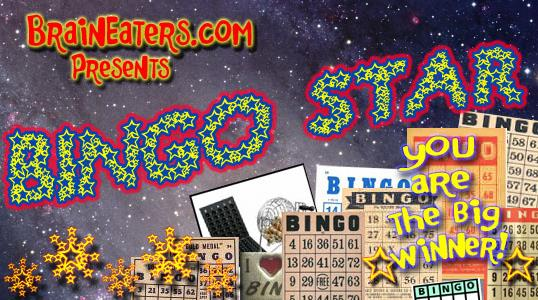 Bingo Star font by Brain Eaters