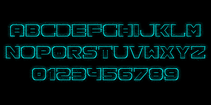 Spac3 Neon Font By Qbotype Fonts Fontspace