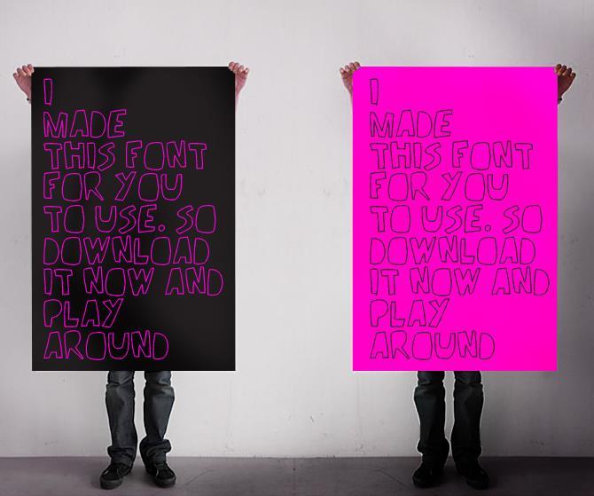 REV_v2 font by Rashid Akrim