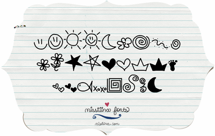 MTF Doodle font by Miss Tiina
