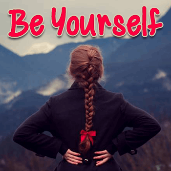 Mf Be Yourself font by Misti's Fonts