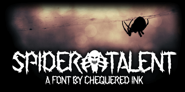 Spider Talent font by Chequered Ink