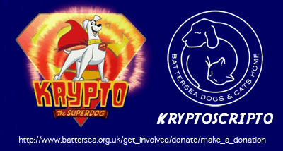 Kryptoscripto font by SpideRaYsfoNtS