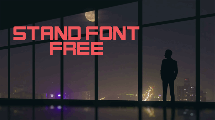 Stand font by TFonts1
