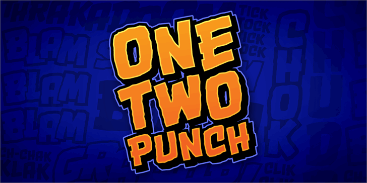 OneTwoPunch BB font by Blambot