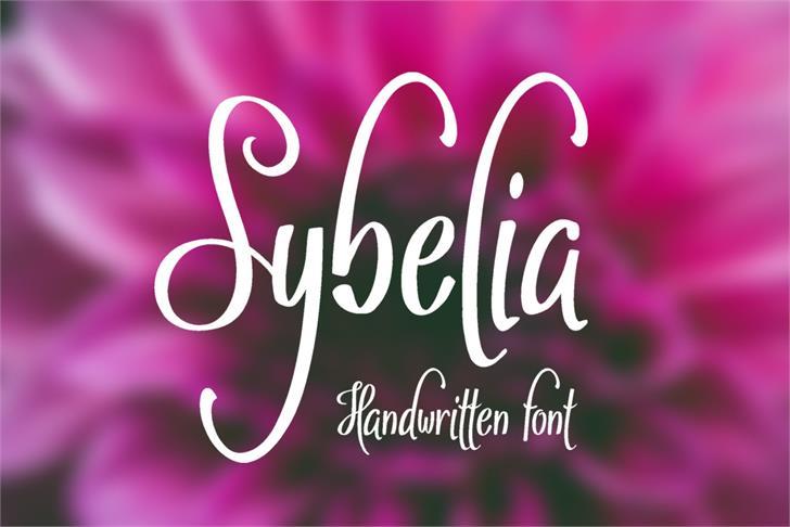 Sybelia font by Eva Barabasne Olasz