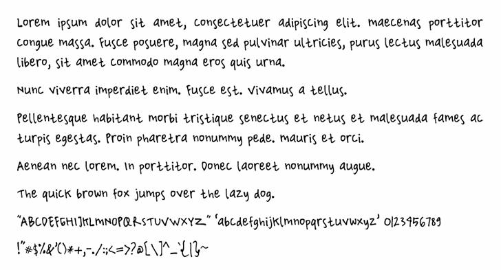 Yantiq font by Rainkarnichi