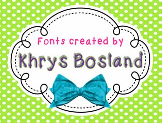 KBSwirlNTwirl font by KhrysKreations