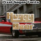 Huggy Bear font by Pixel Sagas