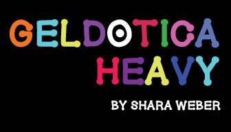 GelDoticaHeavy font by Shara Weber