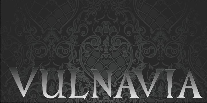 Vulnavia font by Intellecta Design