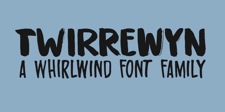 Twirrewyn DEMO font by David Kerkhoff