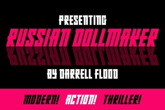 Russian Dollmaker font by Darrell Flood