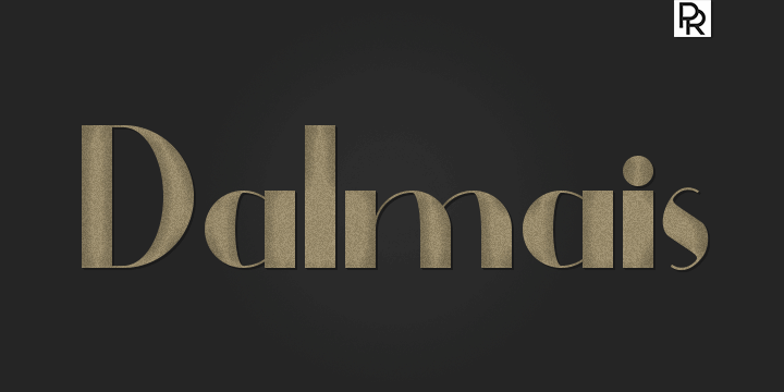 Dalmais font by Paulo R
