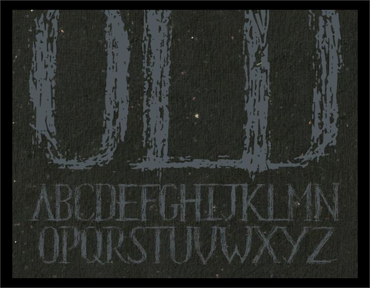 HKH Old Glyphs font by Poemhaiku