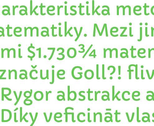 Capriola font by Viktoriya Grabowska