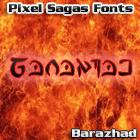 Barazhad font by Pixel Sagas