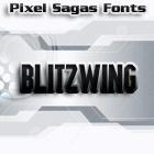 Blitzwing font by Pixel Sagas