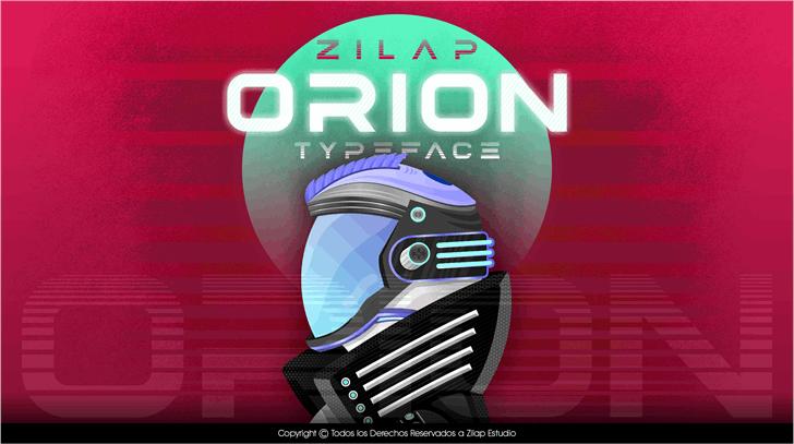 Zilap Orion Personal Use font by ZILAP ESTUDIO - ZP