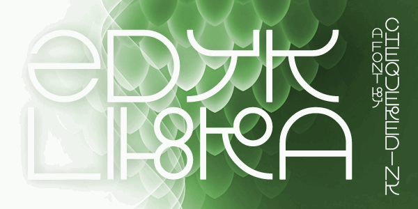 Zdyk Libra font by Chequered Ink