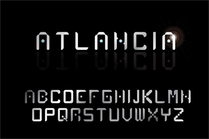 Atlancia font by LALATO FONTS