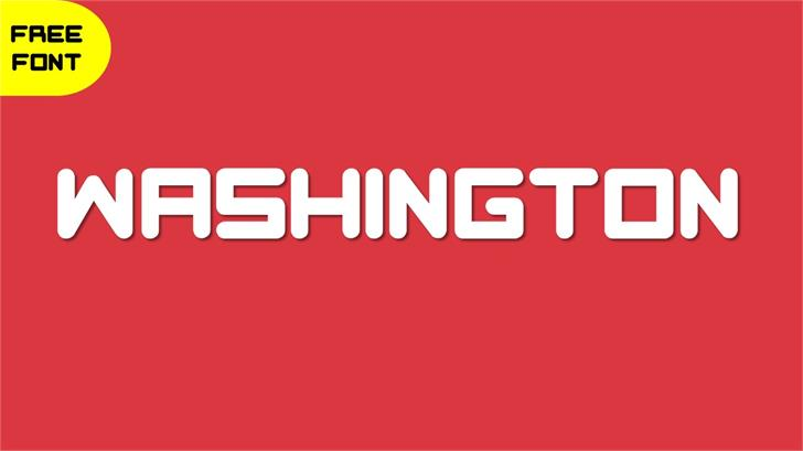 Washington font by TFonts1