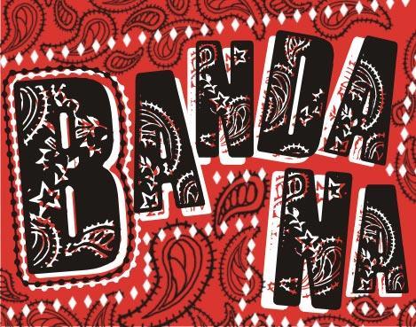 VTKS Bandana font by VTKS DESIGN