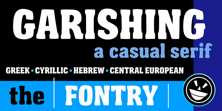 Garishing Worse font by the Fontry