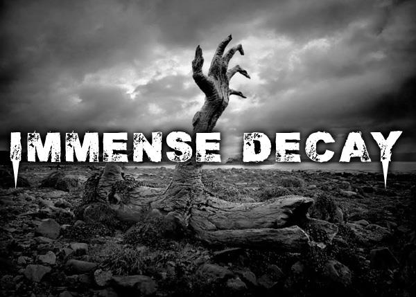 Immense decaY font by Chris Vile