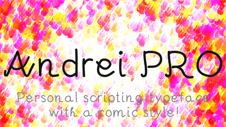 Andrei font by Kreativ Font