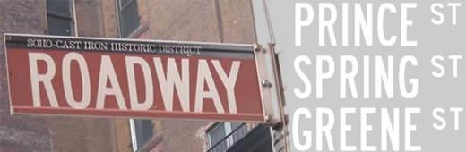Roadway font by K-Type
