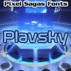 Plavsky font by Pixel Sagas