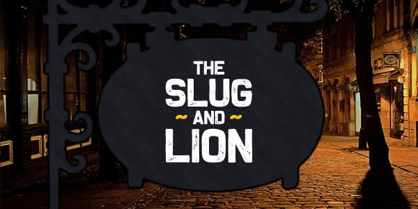 The Slug and Lion font by Chequered Ink