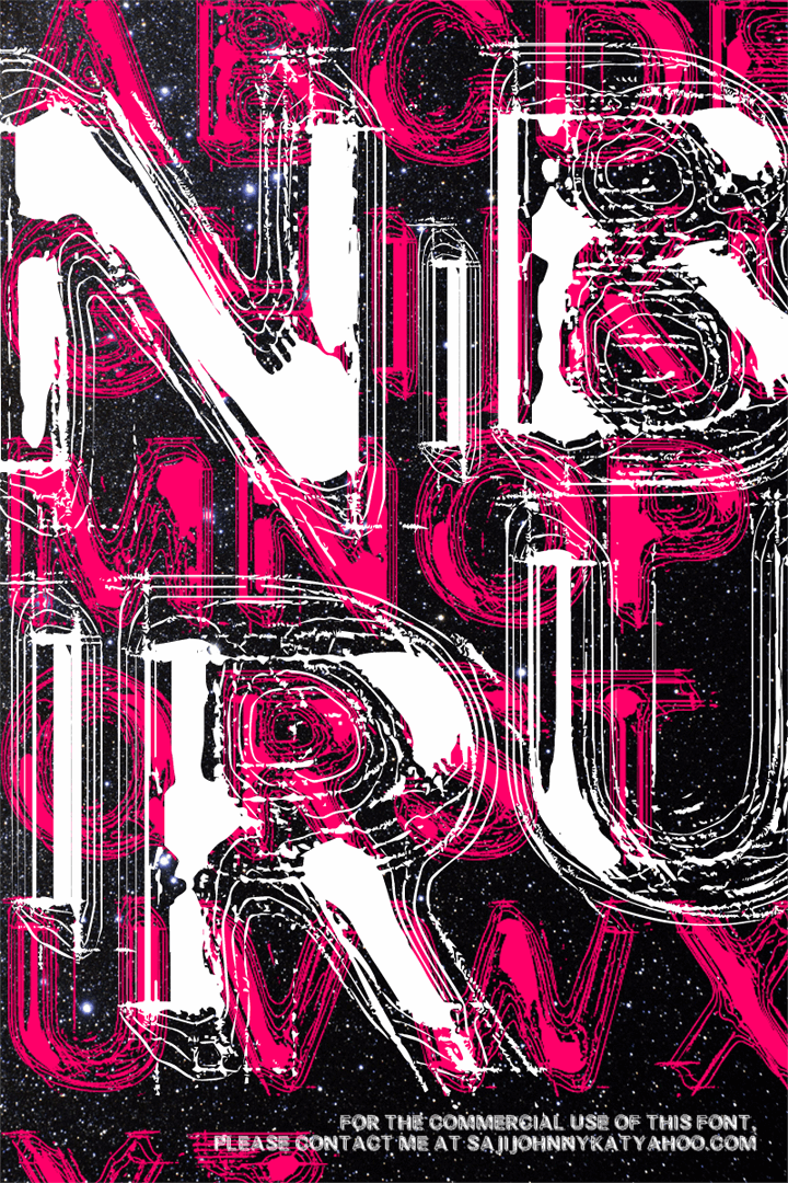 NIBIRU font by SAJI JOHNNY KUNDUKULAM