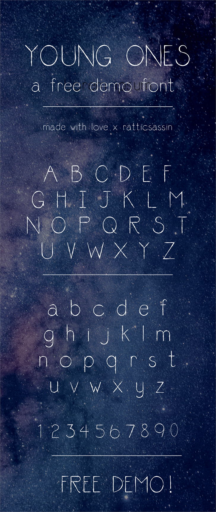 youngones_RS font by Ratticsassin makes Fonts