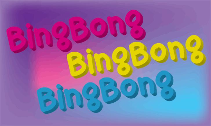 bingbong font by LALATO FONTS