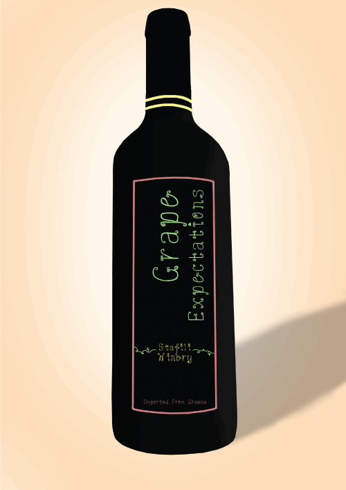 Grape Expectations font by happycat1994