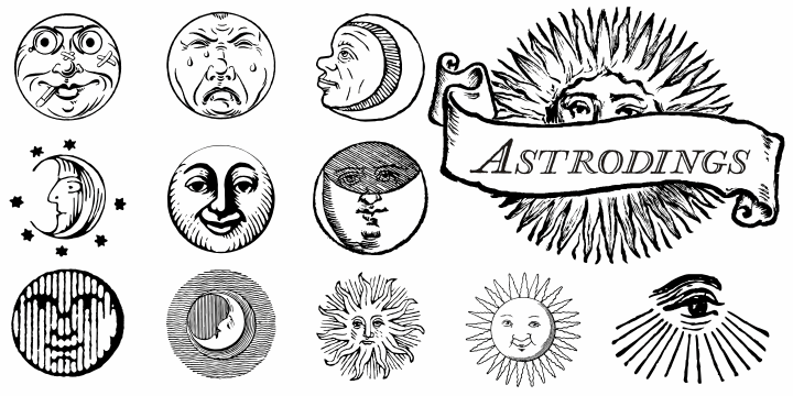 Astrodings font by Intellecta Design