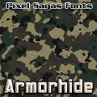 Armorhide font by Pixel Sagas