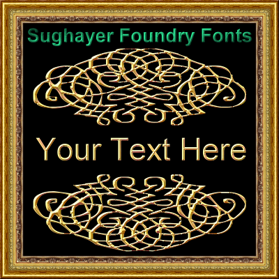 Vintage Elements_013 font by Sughayer Foundry