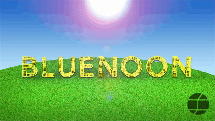BlueNoon font by Jake Luedecke Motion & Graphic Design