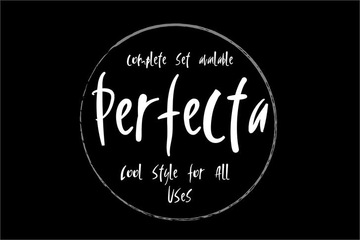 Vtks Perfecta font by VTKS DESIGN