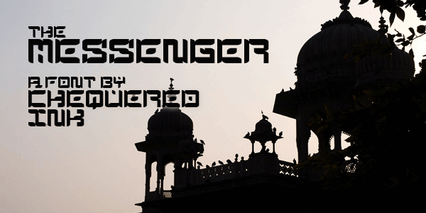 The Messenger font by Chequered Ink