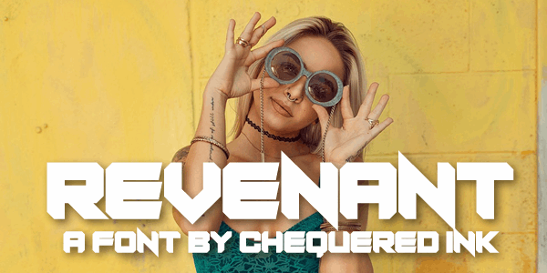 Revenant font by Chequered Ink