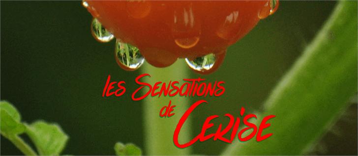 les Sensations de Cerise font by Maellekeita